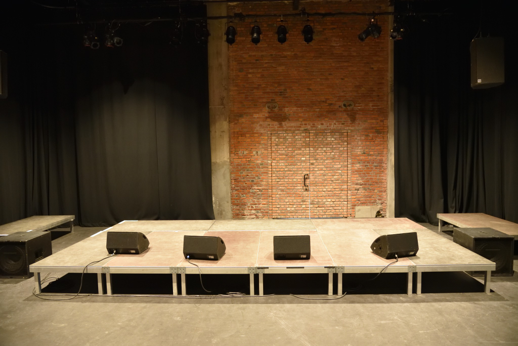 The Black Theater: stage